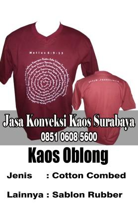 Tempat Produksi Sablon Kaos Murah Surabaya