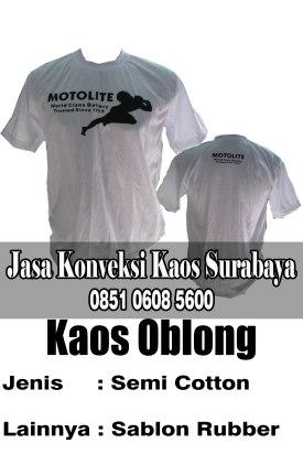 Daftar Harga Kaos Murah Berkualitas di Surabaya