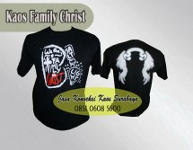 kaos oblong promosi family christ