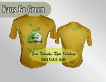 kaos oblong promosi go green 2