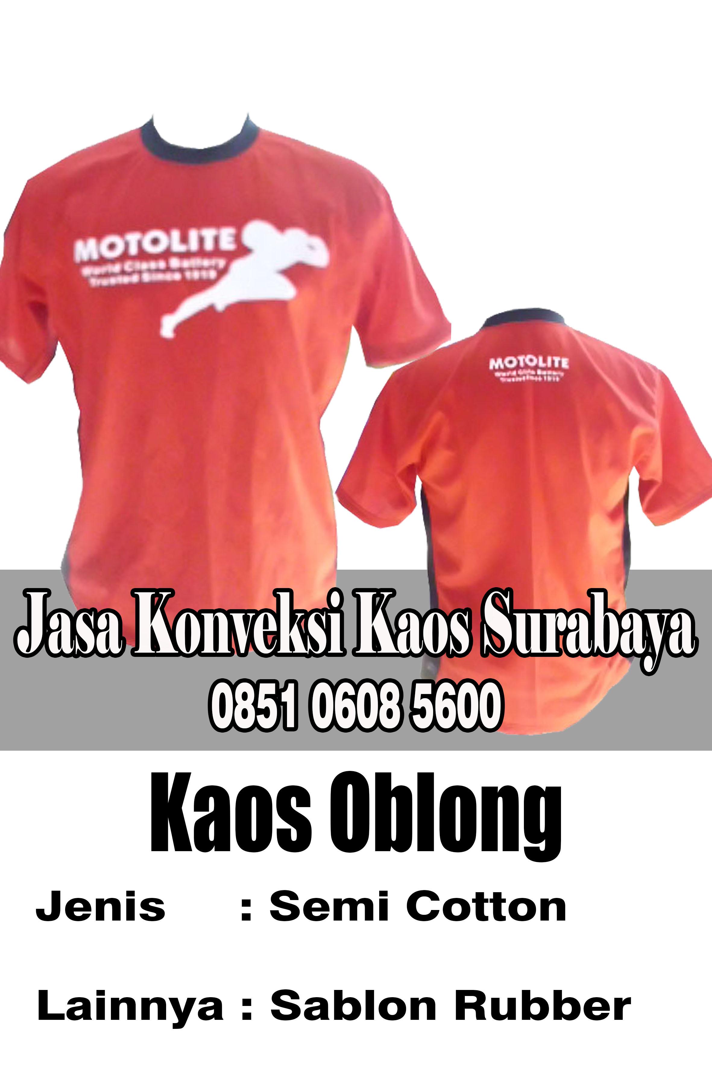 Tempat Buat Kaos Promosi Grosir Murah di Surabaya  9ea3aa3239
