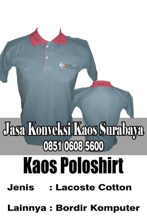 Pesan Kaos Poloshirt Bordir Promosi di Surabaya